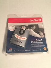 New SanDisk ImageMate USB 2.0 5-in-1 Card Reader/Writer SDDR-99-A15 FREE SHIPPIN
