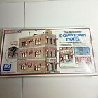 Life-Like HO Scale Model Kit  # 1339 The Belvedere Downtown Hotel  new in Box