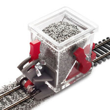 HO/OO Scale Advanced Ballast Spreader Car (See video)