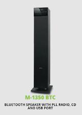 M-1350 Mini Torre Bluetooth 2.1 Altavoz Estéreo Aux NFC MP3 120W-CD defectuoso
