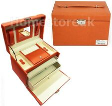 JEWELLERY VANITY BOX BEAUTY MAKEUP COSMETIC STORAGE CHEST DRAWER WITH MIRROR 688