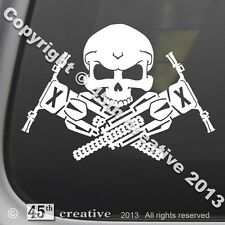 Motocross Crossbones Decal - dirtbike motorcycle tire grips fender skull sticker
