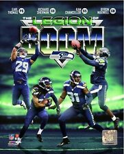 "Seattle Seahawks Super Bowl XLVIII Legion of Boom Photo (Size: 8"" x 10"")"