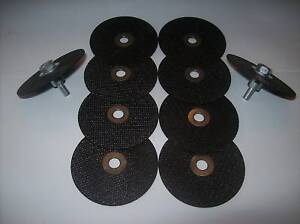 "10pc NEIKO 3"" CUT-OFF CUTOFF WHEELS WITH 2 MANDREL ARBORS 11033A"