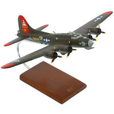 USAF Boeing B-17G Olive Flying Fortress Desk Display Model 1/72 WW2 ES Airplane