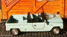RENAULT RODEO 1972 NOREV 1/43 CLASSIC BLEU HACHETTE NEW