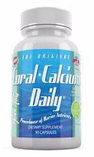Coral Calcium Daily Original 1475mg 90 capsule Best Pure Supreme Marine Okinawan