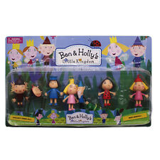 "3"" Ben and Holly's Little Kingdom PVC Cartoon Figure Pendant Doll 8pcs Set Boxed"