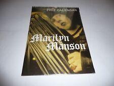 More details for marilyn manson - 2002 calendar (zinc7) sealed