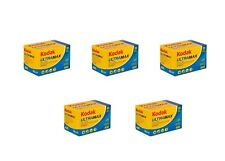 5 Rolls Kodak Ultramax 400 35mm Film GC 135-36 Exp GOLD Color Print 03/2022