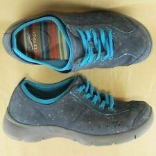 Dansko US 6 6.5 EU 37 Women Sneaker Slip Resistant Lace Up Black Suede