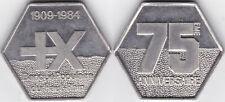 Frankreich 75 Jahre Banque Populaire du Haut-Rhin 1984 vermutlich Zinn, etwa 35