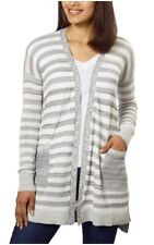 Calvin Klein Women's Open Front Long Cardigan Sweater New with Tags XXL