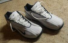 Mens NIKE AIR Golf Shoes White Size  8 Never Worn EUC