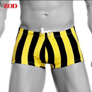 2021 Men's Swimwear Sexy Printed Underwear Swim Bikini Briefs Swimming Boxers