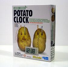 4M KIDZ LABS POTATO CLOCK OROLOGIO CON PATATA +8 ANNI