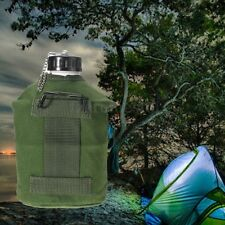 British Army Military Aluminum Water Bottle Canteen Camo Camping Hiking 1.3L