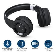 Casque Ecouteur Bluetooth + 3.5MM Audio Stéréo avec Micro FM MP3 SD Oreillette