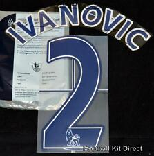 Chelsea Ivanovic 2 Premier League Name/Number Set Football Shirt Lextra 07-13 B