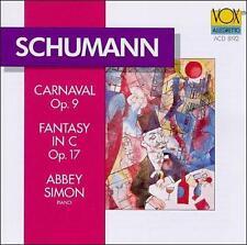 Schumann: Carnaval, Op. 9 / Fantasie in C, Op. 17
