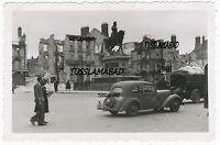 Wehrmacht  Besatzung Frankreich Belgien Stadt Verkehr Denkmal Ruinen 2 WK
