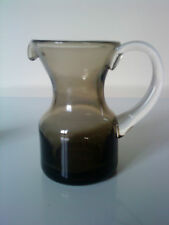 """Whitefriars small smokey coloured jug 4"""" high x 4"""" wide"""