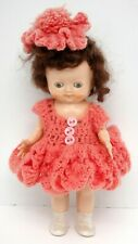 """Pedigree 8"""" Vintage Doll Made in England"""