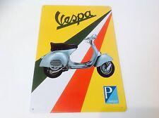 VESPA PIAGGIO MODS BRIGHTON MOPEDS Metal Poster Bar  wall Decor Sign Tin Plaque