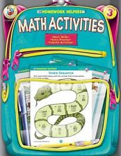 Homework Helper: Math Activities by School Specialty Publishing Staff and...