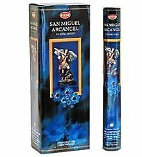 Hem Incense Sticks San Miguel Arcangel Bulk 120 Stick for Cleansing Spiritual