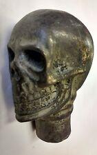 Cráneo Bastón Asa de caña Gótico Steampunk momento Mori satánico