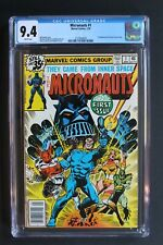 MICRONAUTS #1 First Print 1st BARON KARZA Live-Action MOVIE 1979 CGC NM 9.4