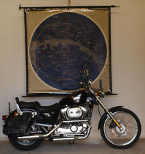 Wandkarte Nördlicher Sternenhimmel 156x162cm~1961 Northern Celestrial Hemisphere