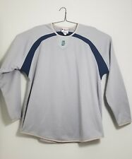 MAJESTIC THERMA BASE SEATTLE MARINERS BASEBALL PULLOVER MENS L NICE CONDITION