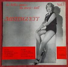 "MISTINGUETT 25 CM 10"" LES BELLES ANNEES DU MUSIC HALL"
