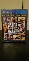 Grand Theft Auto V 5 Premium Edition - Ps4 Gta v Same day Shipping read Below