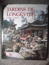 RAMBACH JARDINS DE LONGÉVITÉ CHINE JAPON ART DES DRESSEURS DE PIERRES SKIRA 1987