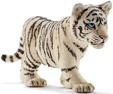 SCHLEICH 14732 Jóvenes De Tigre blanco 7cm SERIE ANIMALES SALVAJES