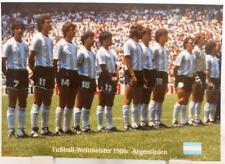 Argentinien + Fußball Weltmeister 1986 + Das Finale + Fan Big Card Edition A30 +