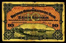 DEUTSCHLAND. Deutsch-Ostafrika. 10 Rupien 1905. Ro. 901. P. 2.