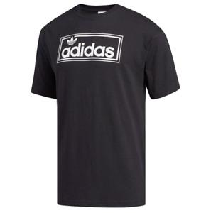 Adidas Men's New Icon Tee Shirt, Black