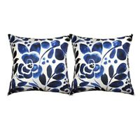 Double-Sided Soft and Cozy Throw Pillow Covers Set of 2 Pillowcases 18X18In N2K4