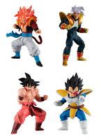 Bandai Dragon Ball GT Super HG Figure 4 Gashapon Gogeta Baby Goku Set 4 pcs