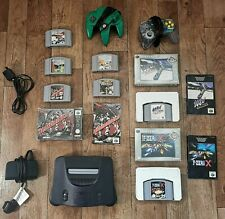 N64 Console Big Bundle Nintendo 64 with 7 games and 2 controllers. Retro games.