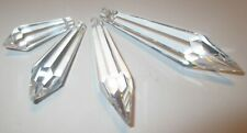 1 Zapfen 50x15 mm Kristallanhänger, Asfour Crystal Fensterschmuck, Lampenschmuck