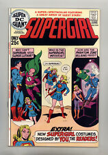 Super DC Giant #S-24 VF+ Swan, Anderson, Mooney, Supergirl, Luthor, General Zod