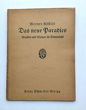Das neue Paradies, Werner Köhler, Erstausgabe 1927, Aktfotos
