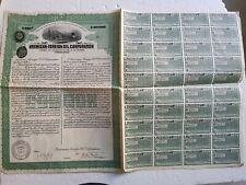 B9 ACTIONS WARRANT American Foreign Oil Corporation 1920 VIRGINIA au porteur