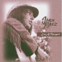 JOAN BAEZ - LIVE AT NEWPORT  CD NEW+