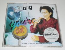 K.D. LANG - YOU'RE OK - 1996 UK 4 TRACK CD SINGLE
